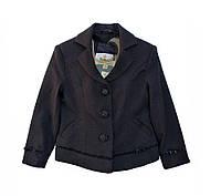 Пиджак школьный для девочки р 116 см