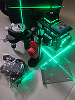 ЛУЧШАЯ ЦЕНА! БИРЮЗОВЫЙ ЛУЧ ДО 50 МЕТРОВ!!! Лазерный уровень HILDA 3D +КРОНШТЕЙН