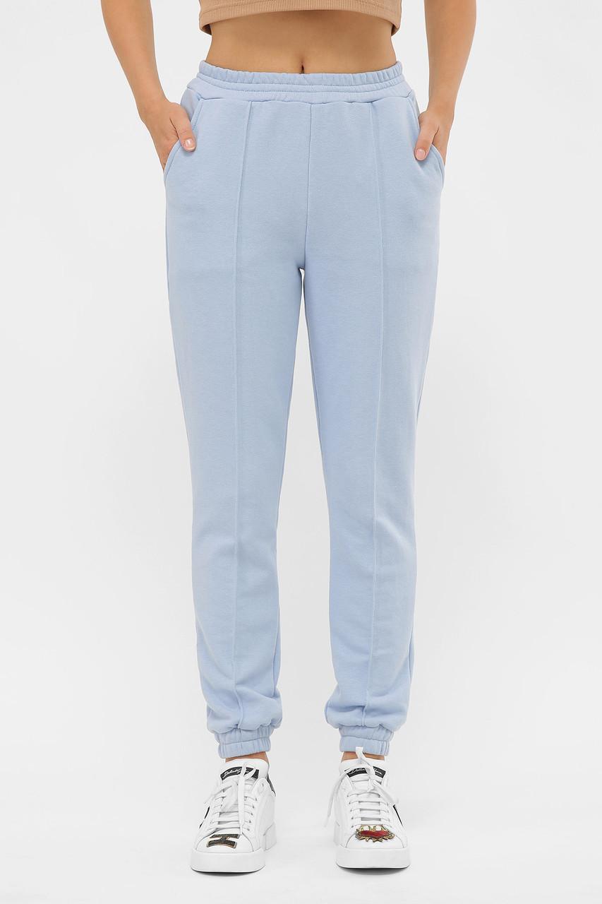Спортивные брюки с манжетами и  отстроченными стрелками размеры S(44), M(46), L(48), XL(50)