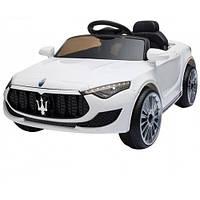 Электромобиль Maserati детский белый