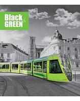 """Тетради ТМ """"GREEN"""" / 2966 """"Black & White"""" (клетка)"""