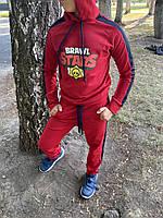 Спортивный костюм детский для мальчика Brawl Stars красный осенний весенний | ЛЮКС качества