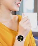 Жіночі стильні водонипроницаемые смарт годинник Reloj inteligente Smartwatch KW19 IP68 Pink ( фітнес браслет), фото 3