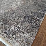 Практичный тонкий ковер в потертом стиле из бабмуковой нити, фото 2