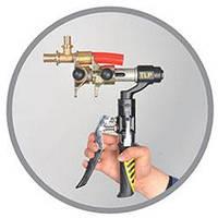 Пресс инструмент для натяжных фитингов Rehau Fado. Сшитый полиэтилен.