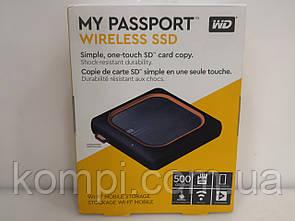 Зовнішній жорстку диск My Passport Wireless SSD 500GB WD (WDBAMJ5000AGY-NESN)
