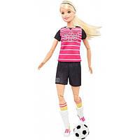 """Кукла Barbie """"Спортсменка"""" серии """"Я могу быть""""  Футболистка Блондинка DVF68"""