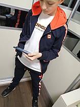 Детские спортивные костюмы для мальчика ACTIVE! оранжевий! Венгрия. 134-146 рост.