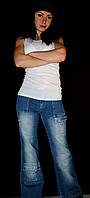 Стильные молодежные джинсы на подростка