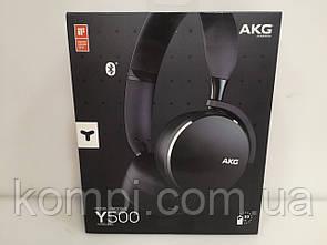 Наушники безпровідні AKG Y500 Wireless Black (Оригінал)