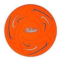 Игрушка фрисби оранжевая Yoheha Skylicone (4897050274682)
