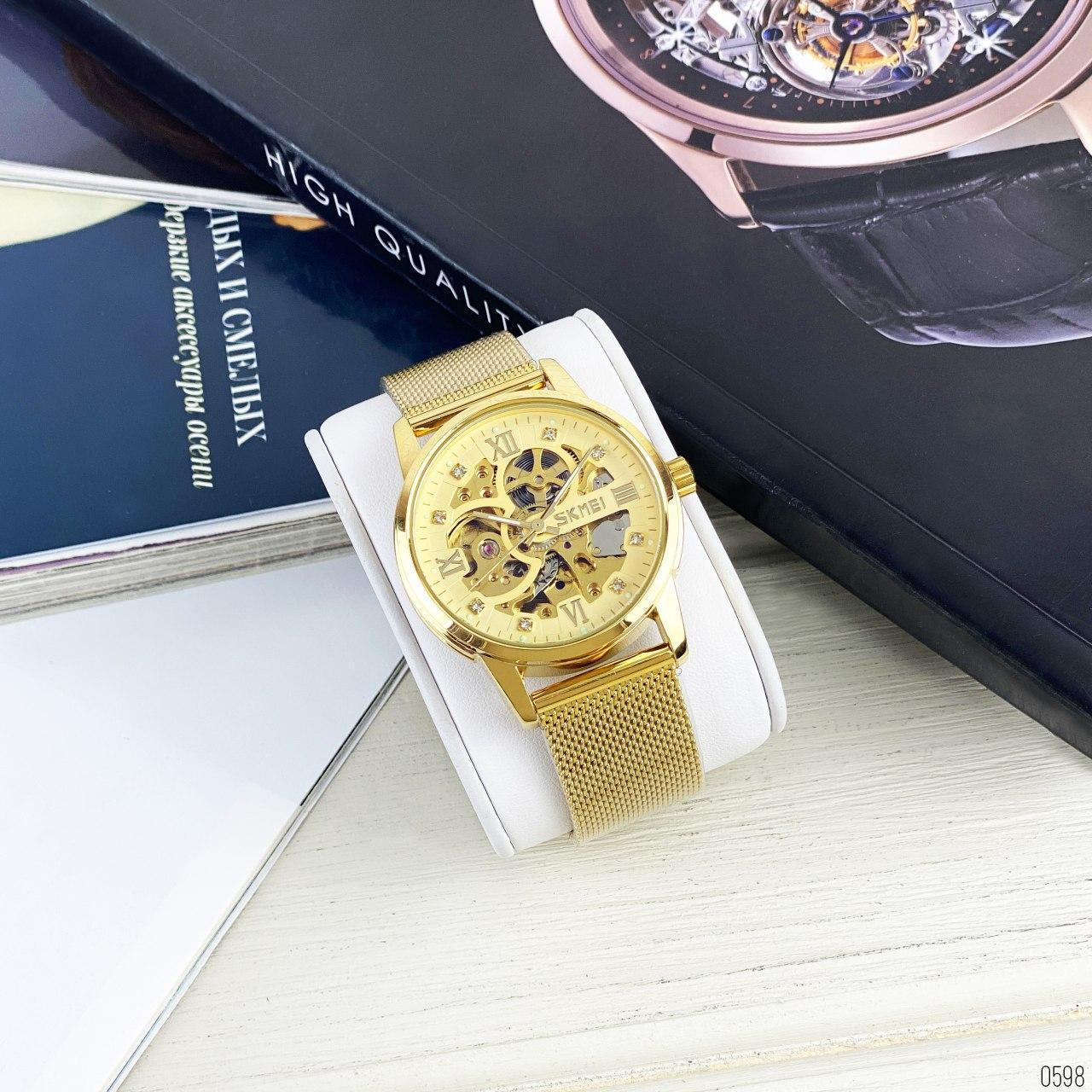 Skmei 9199 модель механических часов