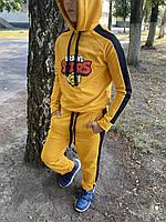 Спортивный костюм детский для мальчика Brawl Stars желтый осенний весенний демисезонный ЛЮКС качества