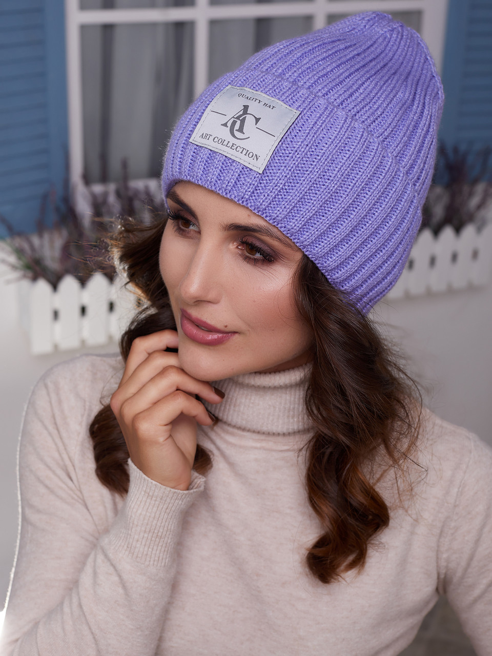 Женская шапка Лили