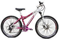 Женский велосипед Ardis LX-200 26  сиреневый бабочки, фото 1