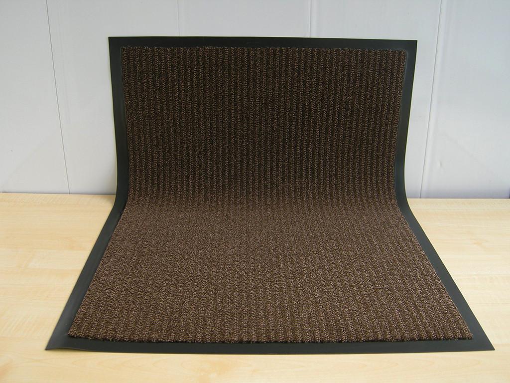 Коврик грязезащитный Премиум петля 60х90см., коричневый