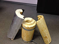 Скорлупа пенополиуретановая для теплоизоляции трубопроводов горячего водоснабжения, нефтепроводов, газопроводо