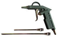 Пистолет продувочный Sigma с набором наконечников (26/122/212мм)(6831031)