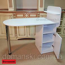 Маникюрный стол с дверцей, тумбочка., фото 3