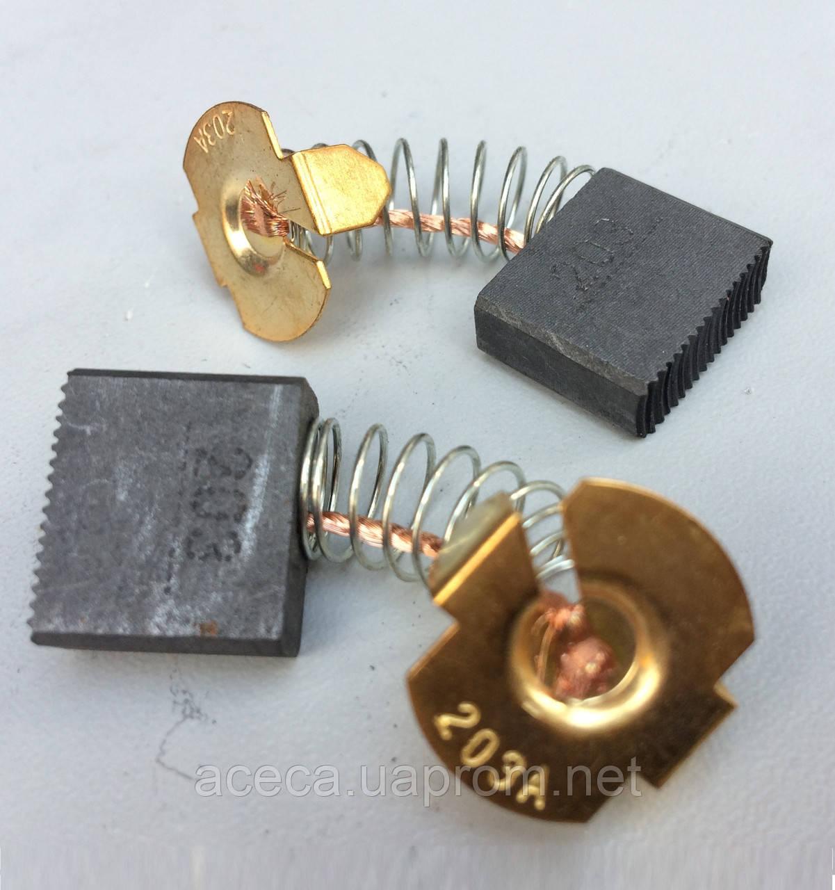 Щетка графитовая к электроинструменту (7*18*16)