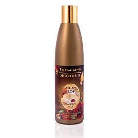 Освежающий гель для душа с аргановым и розовым маслами Argan & Rose Natural oils