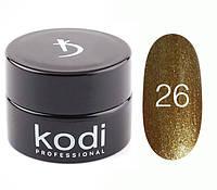 Kodi гель краска 4 мл, № 26