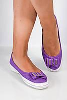 Мокасины женские 160P878 (Фиолетовый), фото 1