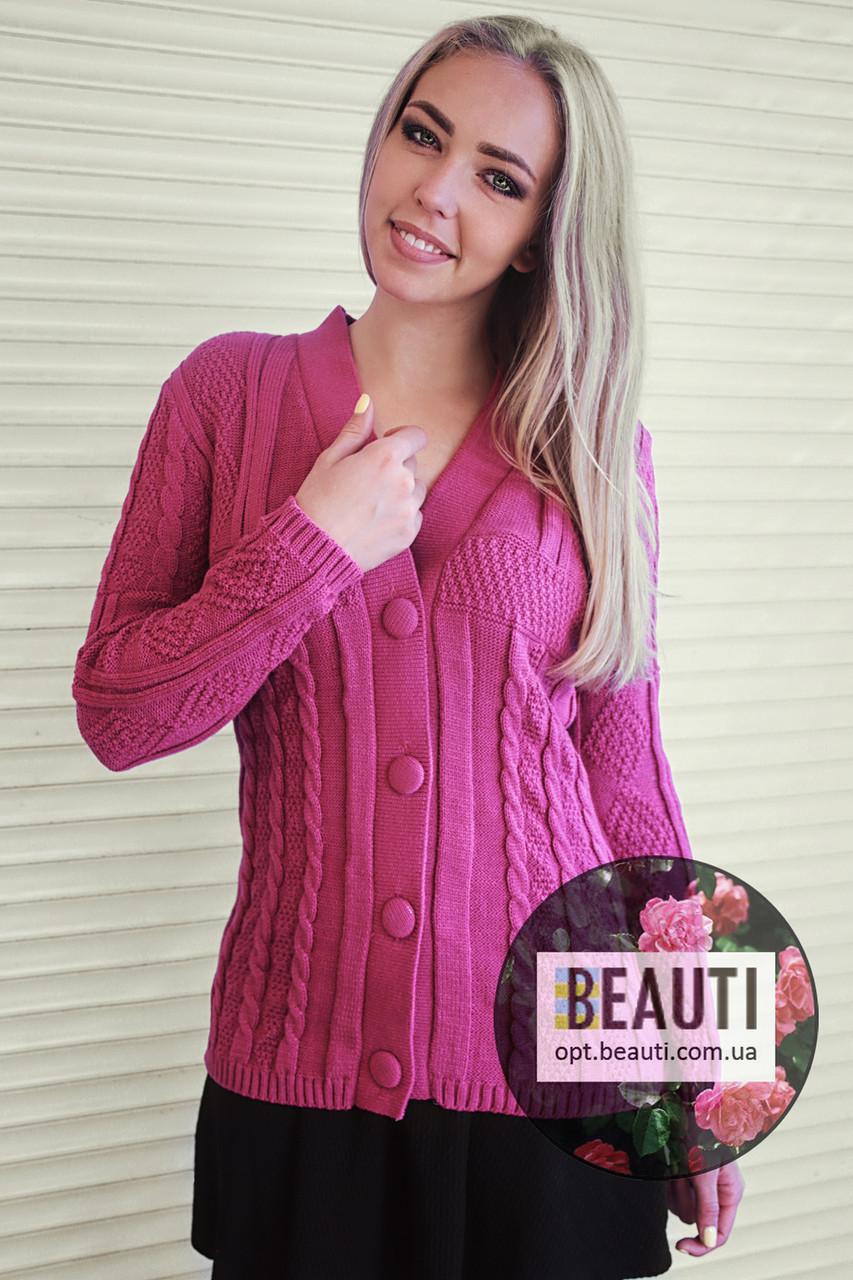 Купить вязаную кофту женскую с доставкой