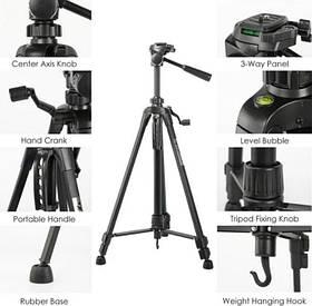 Профессиональный штатив WEIFENG WT-3520 для фото и видео