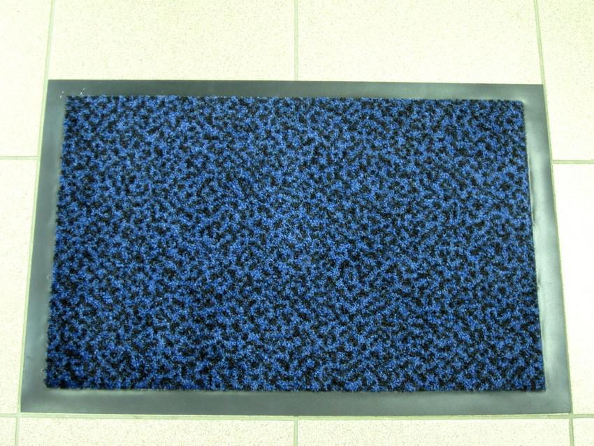 Коврик грязезащитный Гепард, 40х60см., синий