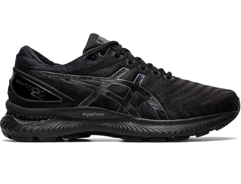 Кроссовки Asics Gel Nimbus 22 Triple Black 1011A680-002 черные