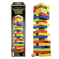 Настольная игра Дженга разноцветная Merchant Ambassador (4897049300804)