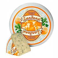 Сир гауда козячий з медом та чебрецем Landana Goat Cheese Honey & Thyme 50% 300 г