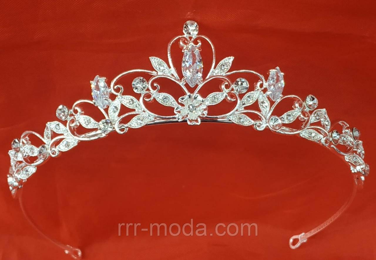 Нежная хрупкая корона для девушки. Прекрасная бижутерия оптом. 88