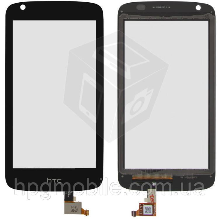 Сенсорный экран для HTC Desire 526G Dual Sim (128 × 66 мм), черный, оригинал