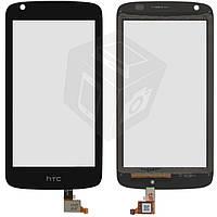 Touchscreen (сенсорный экран) для HTC Desire 526G Dual Sim (128 × 66 мм), оригинал (черный)