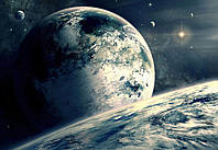"""Фотообои виниловые """"Чужая планета"""" 368х254см"""