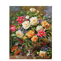Картина по номерам Babylon Цветы в вазе DZ1107 40*50. На холст с подрамником.