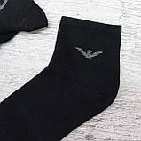 """Мужские носки, средней длины ,40-44 р-р. """"Karsel"""" . Носки мужские, черные, фото 3"""