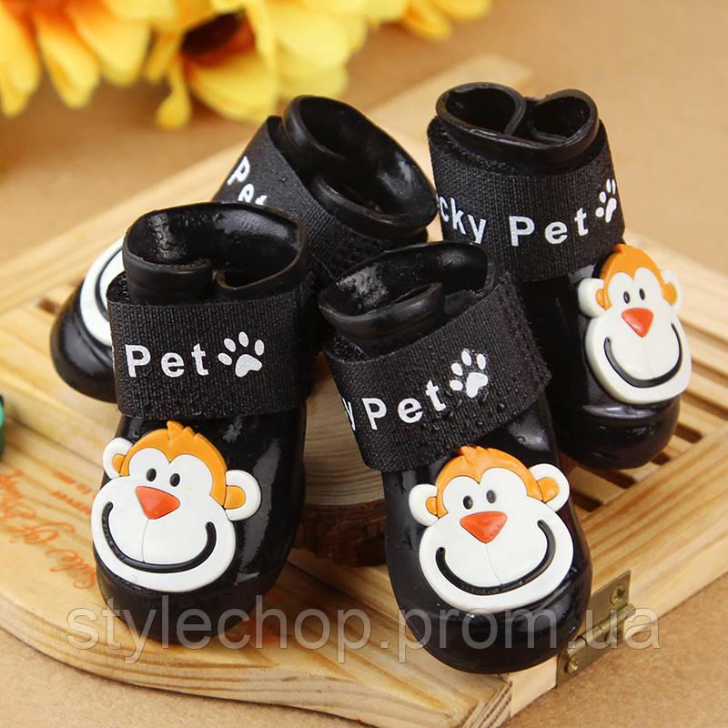 Гумові черевики для собак