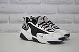 Стильні білі кросівки в стилі найк зум Nike WMNS NIKE ZOOM 2K, фото 2