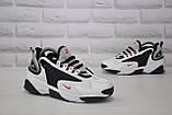 Стильні білі кросівки в стилі найк зум Nike WMNS NIKE ZOOM 2K, фото 3