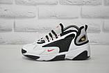 Стильні білі кросівки в стилі найк зум Nike WMNS NIKE ZOOM 2K, фото 4