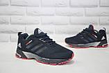 Кросівки чоловічі легкі сітка сині в стилі Adidas Springblade, фото 2