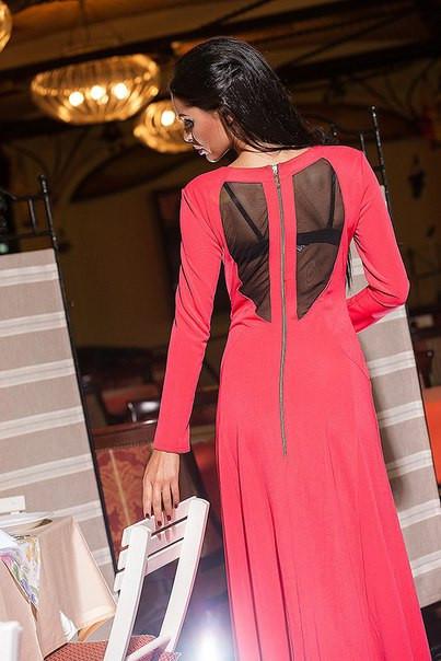 Платье длинное женское