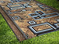 Дорожка ковровая искусственная # 80; 100(2,84); 250; 300(ост.2,05) см