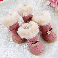 Ботиночки для собак зима