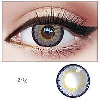 Серые линзы для глаз