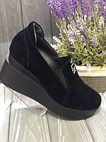 Туфлі замшеві жіночі 36-40р.