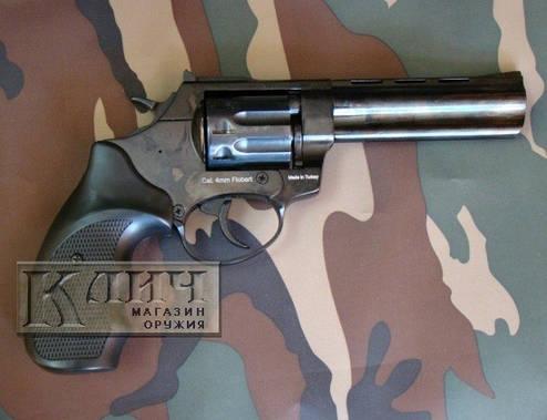 """Револьвер под патрон Флобера Ekol Viper 4,5"""" Black, фото 2"""